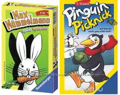 Игра Ravensburger Заяц Макс от 4 лет и Пикник пингвинов от 5 лет Акция -30