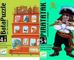 Игра Djeco Piratatak и Бата-пазл от 4 лет Акция -30 от цены