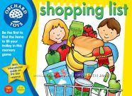 Игра Orhard Toys Список покупок с дополнением от 4 лет Акция -30 от цены