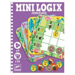Игра Djeco Mini Logix Джунгли от 6 лет Акция -30 от цены