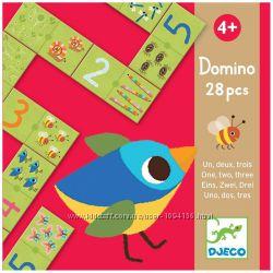 Игра Djeco Домино Раз Два Три от 4 лет Акция -40 от цены