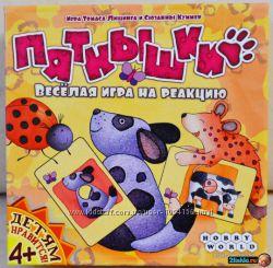 Игра Hobby World Пятнышки от 3 лет Акция -30 от цены