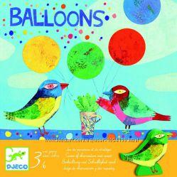Игра Djeco Balloons от 3 лет Акция -30 от цены