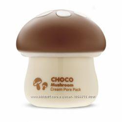 Tony Moly Choco Mushroom Cream Pore Pack Маска для сужения и очищения пор