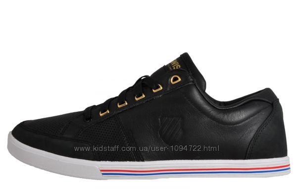 K-Swiss кожаные сникерсы, кроссовки. Размер 40. Замеры стельки на фото