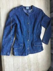 Джинсовий жіночий піджак