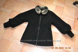 Пальто с натуральным мехом шиншиллы Stella Polare