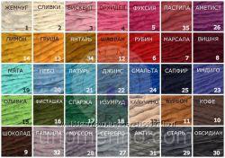 Толстая пряжа для вязания, 34 цвета