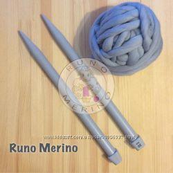 Пластмассовые спицы для вязания из толстой пряжи