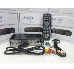 Цифровой эфирный тюнер Satcom T530 T2 Full HD