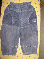 вельветовые брюки на 2 года