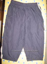 плащевые штаны на подкладке на 2года