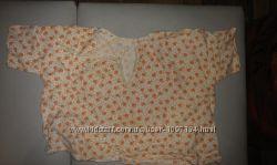 распашонки-футболки на 6-12мес
