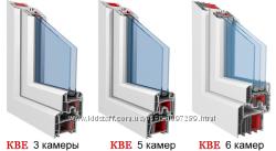 Металопластиковые окна Основа, КВЕ, ТROKAL, WDS