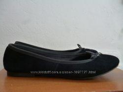 Туфли балетки Marks&Spencer кожа р. 38 ст. 24, 5 см.