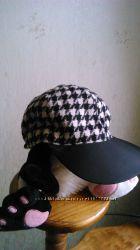 Кепка шапка женская осень  весна шерсть