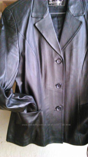 Куртка пиджак кожа р. 46 НОВАЯ