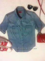 Джинсовая рубашечка Levis оригинал в идеальном состоянии
