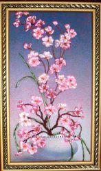 Сакура- миниатюра по картине Романа Стрельцова