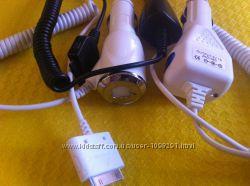 Автомобильное зарядное устройство для iPhone 3G, 3Gs, 4, 4s