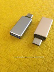 Переходник USB 3. 1 Type-C на USB  OTG