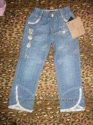Летние брючки для девочек , джинсы