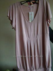 Футболка для беременной  Юла мама розовая, размер XL