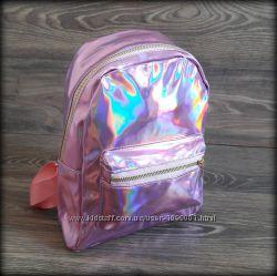 Голографический рюкзак женский Хамелеон