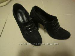 Туфли замшевые демисезонные