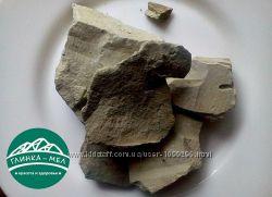 Глина пищевая Зеленая Закарпатская. Природная оздоровительная