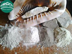 Набор пробников глина пищевая, косметическая молотая 5 шт. по 100г.