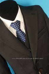 Костюм Bozer пиджак, брюки и жилет для мальчика рост 122 - 127 см