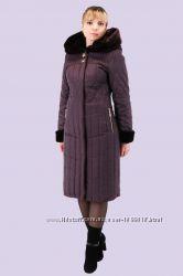 Модный легкий и теплый пуховик для женщин тинсулейт и силикон большого разм