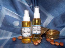 Аргановое косметическое масло первого холодного отжима из Марокко
