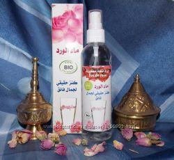 Розовая вода из Марокко. Натуральные Гидролаты Цветочные