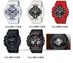 Оригинальные часы CASIO G-SHOCK GA-100