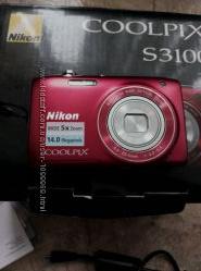 Фотоапарат Nicon coolpix S3100