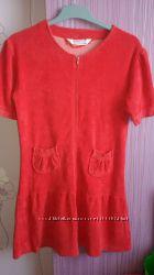 Симпатичный махровый женский халатик, размер L
