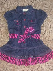 Платье - сарафан джинсовое