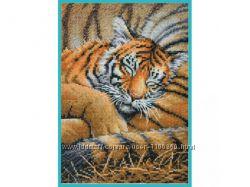 Набор для вышивки Dimensions Спящий тигренок