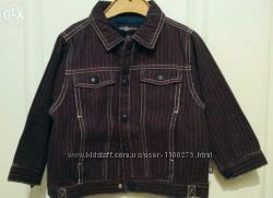 Новая, с биркой, джинсовая курточка Motion на девочку 80-86р