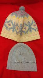 Новые фирменные вязаные шапочки от 3 до 18месяцев