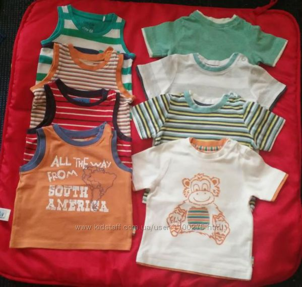 Футболка, майка футболочки и маечки Mothercare, Coolclub, 68-74р