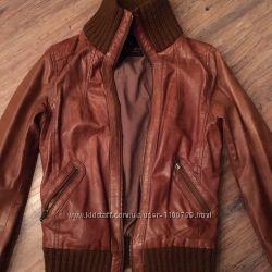 Maison Scotch куртка кожаная