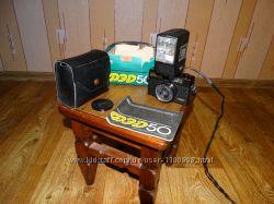 Фотоаппарат Фед 50 и  фотовспышка