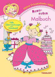 Книга-раскраска для девочек с принцессами - яркая, красочная