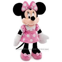 Минни Маус в рожевій сукні Medium 48 см Оригинал DisneyStore