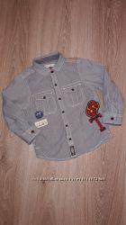 Стильная рубашка Next 1, 5-2 года