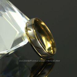 Бесподобное, модное колечко, покр. золото 18К Gold Filled, р. 18