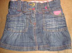 Джинсовые юбки на девочку